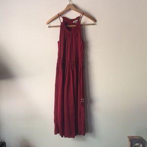 LUCKY BRAND halter dress! NEVER WORN
